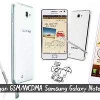 Jaringan GSM/WCDMA Samsung Galaxy Notes N7000