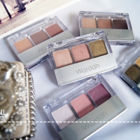 [Review] Wardah: Eye Shadow Trio - A, D, F, G, J